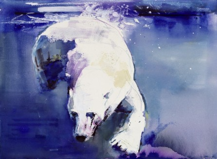 """Underwater Bear"" (1999)- Mark Adlington"
